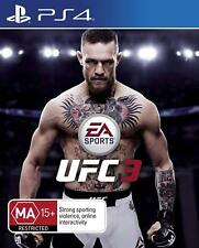 EA Sports UFC 3 Conor McGregor Fighting Sports Game For Sony Playstation 4 PS4