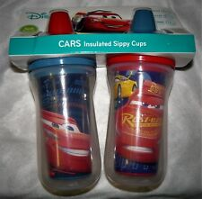 The First Years 2 Pack 9 Ounce Insulated Sippy Cup, Cars/Pattern May Vary New