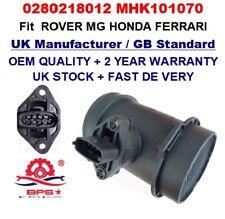ROVER 25 45 2.0iDT MG ZR ZS 2.0TD HONDA Mass Air Flow meter Sensor 0280218012 OE
