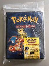 BASE SET Pokemon Folder Collector's Album / Binder 1999 Charizard Blastoise (NEW