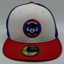 NEW ERA Chicago Cubs MLB 1984 Bear Logo Hat 59FIFTY Fitted Cap 7 7/8 NEW
