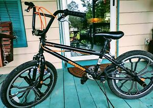 "20"" Mongoose Rebel Bike Bicycle Steel Freestyle Frame Boy's BMX~  Used"