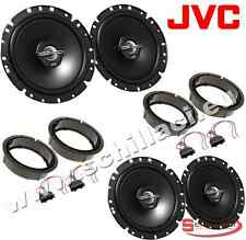 Kit 4 altoparlanti JVC per VW Volkswagen Amarok (-2010/*) con adattatori e suppo