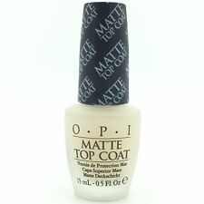 OPI Nail Polish Lacquer Treatment Matte Top Coat NT T35 15 mL 0.5 oz