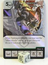 Dice Masters - #078 taskmaster watch and learn FOIL-Deadpool
