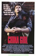 CHINA GIRL MOVIE POSTER Original 27x41 Rolled 1987 ABEL FERRARA ROMANCE