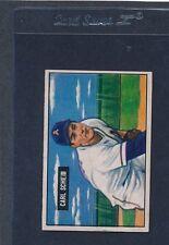 1951 Bowman #083 Carl Scheib Athletics EX 51B83-22715-2