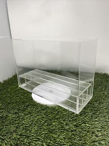 Acrylic Display Case Display Box 3 Trays Stackable Free Shipping 15x5 Look🔥