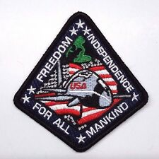 "Armageddon Movie Independence Freedom for all Mankind  3""  Patch (ARGPA-04)"