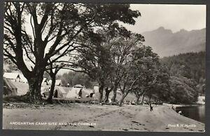 Postcard Ardgartan nr Arrochar in Argyll and Bute Scotland the Camp Site RP