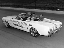 Ford Mustang Convertible 1964 - new pace car Indianapolis 500 May 30 1964 –photo