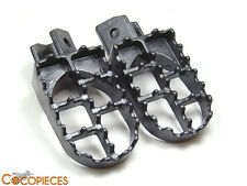 Paire repose cale pied YAMAHA PW 50 & 80 piwi peewee 50pw pw50 pw80 TW 200 pegs