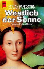 """Edgar Pangborn - """" Westlich der SONNE """" (1989) - tb - sehr guter Zustand"""