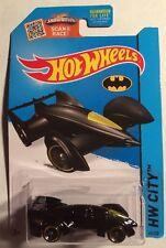 Hot Wheels Black 1:64 Batman Live! Batmobile HW City 65/250 Mattel 2013 New