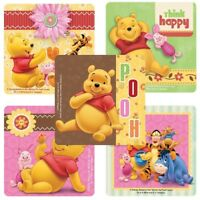 Winnie the Pooh Stickers x 5 - Winnie Birthday Supplies Loot Favours Birthday