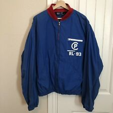 RARE Polo Ralph Lauren CP RL-93 1993 Jacket XL Vintage OG Zipper Pocket Blue