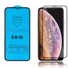10D- Full Cover CLEAR PROTECTOR SCREEN PROTECTION TEMPERED GLASS FOR IPHONE 11