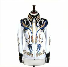 LARGE Showmanship Pleasure Horsemanship Show Jacket Shirt Rodeo Queen Rail Top