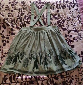 Supernatural Suspender Skirt XL