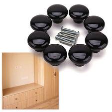 38mm door knob ceramic porcelain cabinet cupboard drawer door pull handle diy