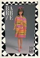 """Barbie Collectible Fashion Trading Card """" All That Jazz """" Pleated Skirt 1968"""