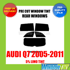 AUDI Q7 2005-2011 5% LIMO REAR PRE CUT WINDOW TINT