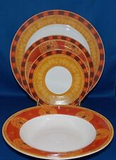 American Atelier PERSIAN SPIRIT Four 4-Piece Place Settings 16 Pieces  NO CUPS
