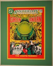 GREEN LANTERN #200 COVER PRINT PROFESSIONALLY MATTED DC GL Corp