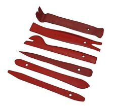 6 Pcs Trim Removal Tool Kit Door Panel Interior Wedge Pry Clip Heavy Duty Drs5