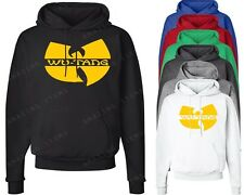WU TANG Clan Logo Hoodie Rap RZA Method Man WuTang ODB NYMCMB Hooded Sweatshirt
