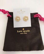 Kate Spade Park Floral Petals Studs Earrings W Dust Bag O0ru1259
