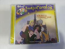 EL JOROBADO DE NOTRE DAME CD AUDIO CUENTOS WALT DISNEY EU EDIT 2006 + TODO REVES