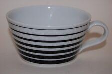 Teetasse 9,5 cm  Tric Straight Black Arzberg NEU