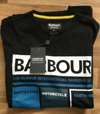 BARBOUR T-Shirt    BRAND NEW WITH TAGS Size Large Black