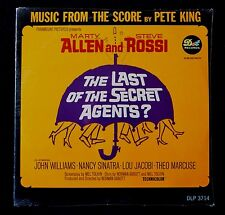 THE LAST OF THE SECRET AGENTS? (MUSIC FROM THE SCORE) SEALED MONO LP