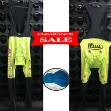 Men Thermal Fleece Cycling BIB Pants Cycling Trousers Tight Padded Bike Tights L