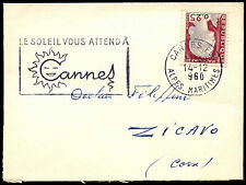 France 1960 Commercial Cover #C37981