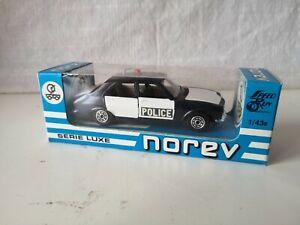 Norev série luxe état neuf en boite. PEUGEOT 504 POLICE N° 214 Serie D