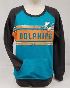 BRAND NEW Majestic Women's NFL Miami Dolphins Sweatshirt