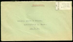 EDW1949SELL : PORTUGUESE INDIA Nice 1947 Registered cover to USA.