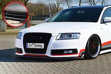 Spoilerschwert Frontspoiler aus ABS Audi A6 4F Facelift mit ABE schwarz glänzend