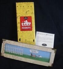 Hallmark Peanuts Gallery HANGING ON Limited Edition 2000 QPC4014