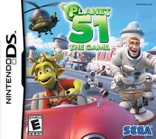 NINTENDO DS - PLANET 51 THE GAME - EXCELLENT CONDITION - FREE SHIPPING