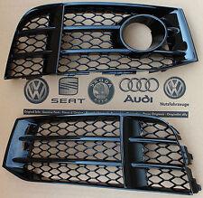 Audi RS5 original grid fog light grill lower bumper grille gloss black