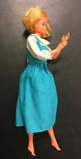 Barbie Doll Mattel Vintage 1966-1976 Short Blonde Blue Bent Elbows *Defect*