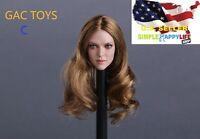 "Superduck 1//6 Female Head SDH005 un pour Phicen Hot Toys 12/"" figure poptoy ❶ USA ❶"