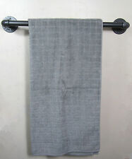 Urban Industrial Retro Style Rustic Iron Pipe Towel Rail