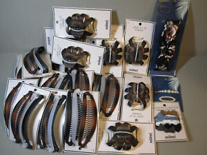NEW - Wholesale lot 22 Scunci Hair Accessories Lot - Jaw Clips, Hair Combs .....