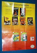 Hi Tech Expressions Nintendo Entertainment System NES Promo Poster