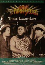 The THREE STOOGES THREE SMART SAPS Five Three Stooges Adventures SEALED DVD